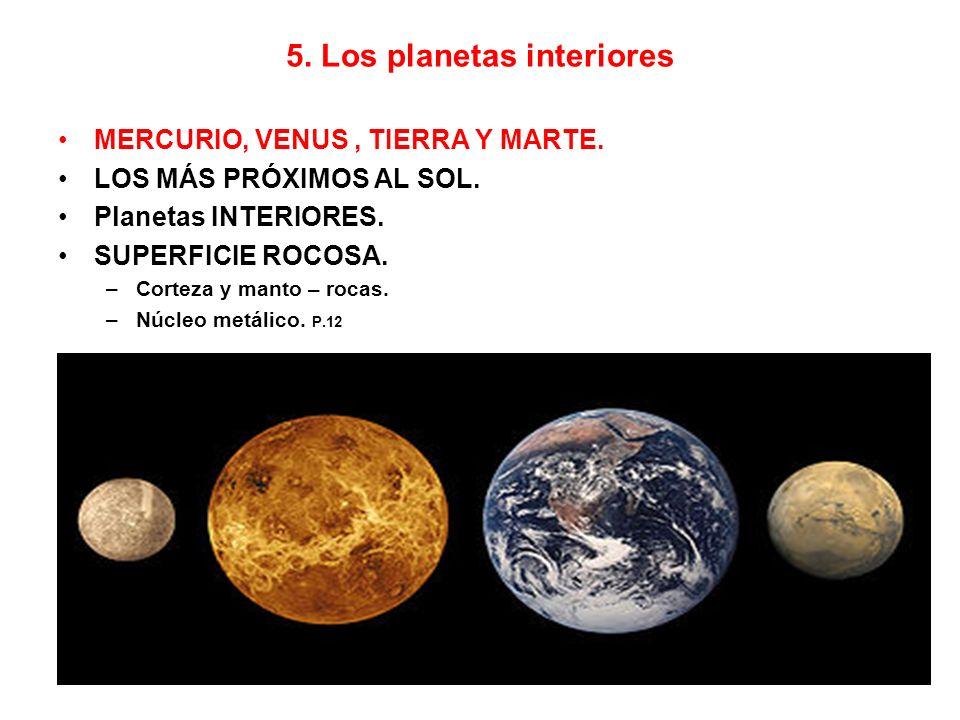 5. Los planetas interiores
