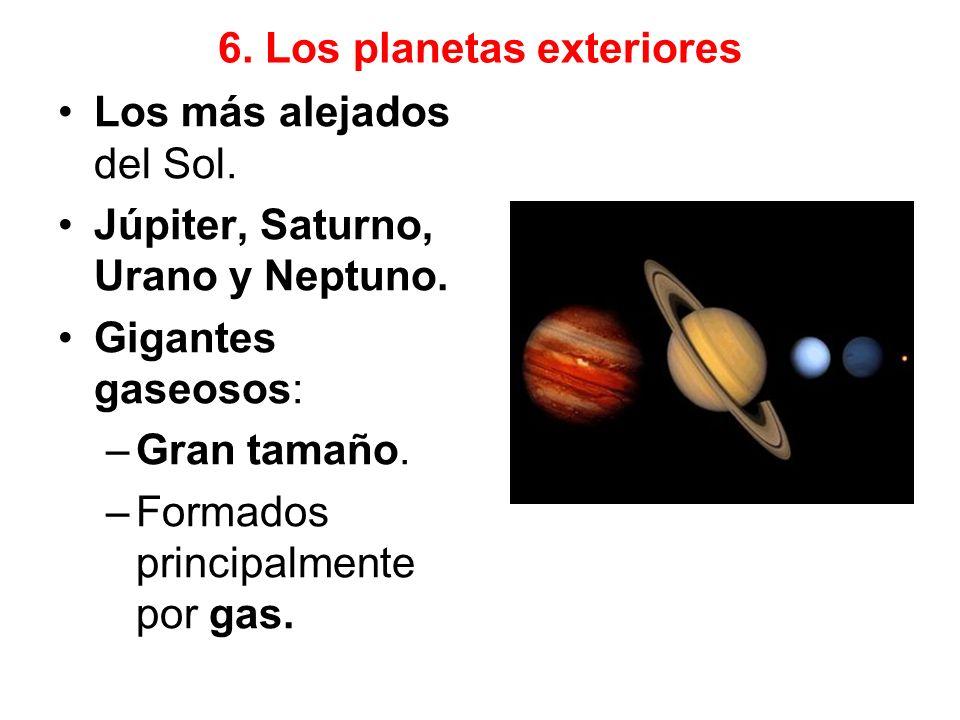 6. Los planetas exteriores