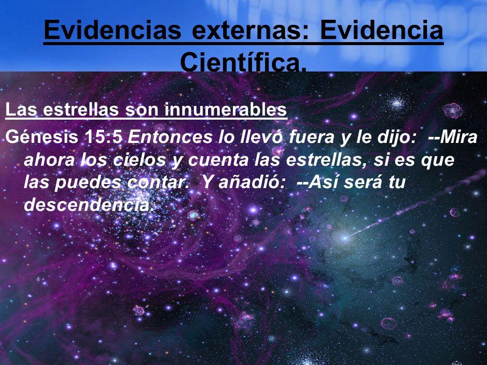 Evidencias externas: Evidencia Científica.
