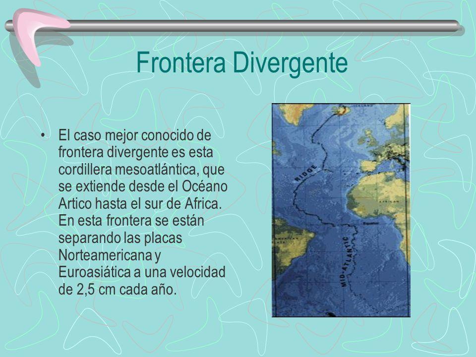 Frontera Divergente