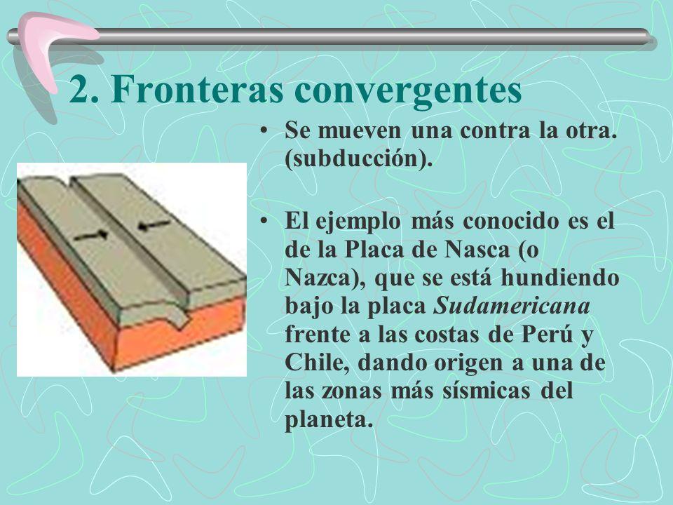 2. Fronteras convergentes