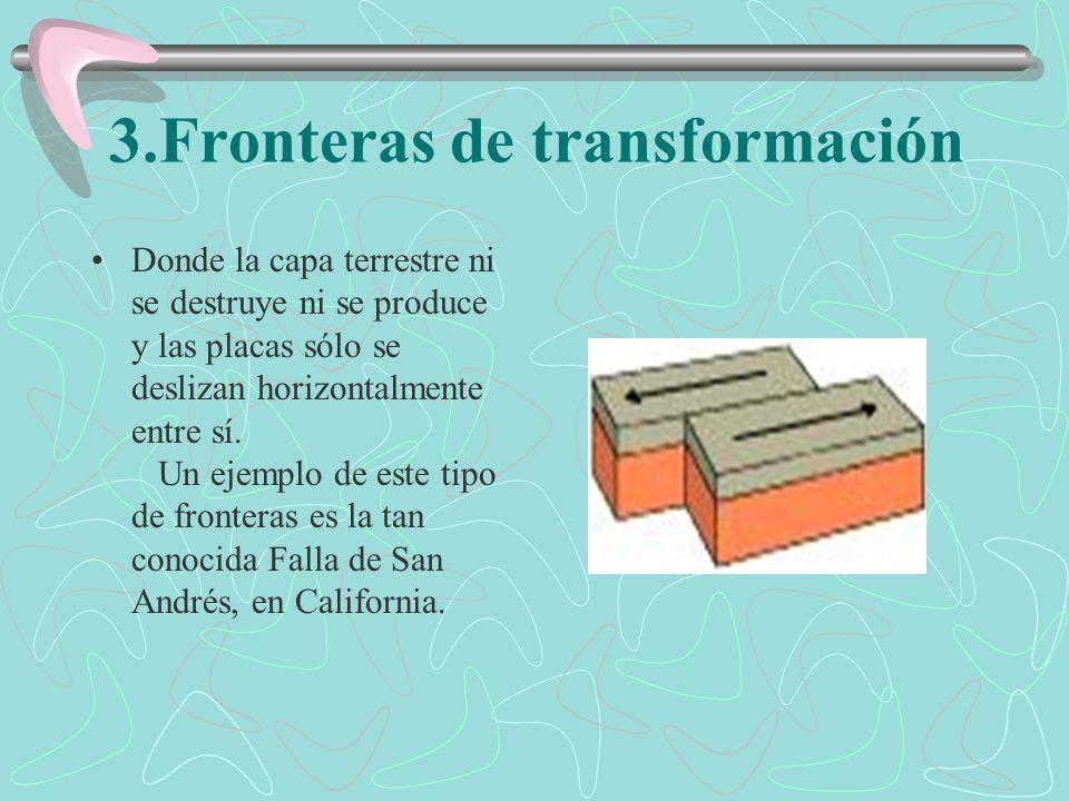 3.Fronteras de transformación