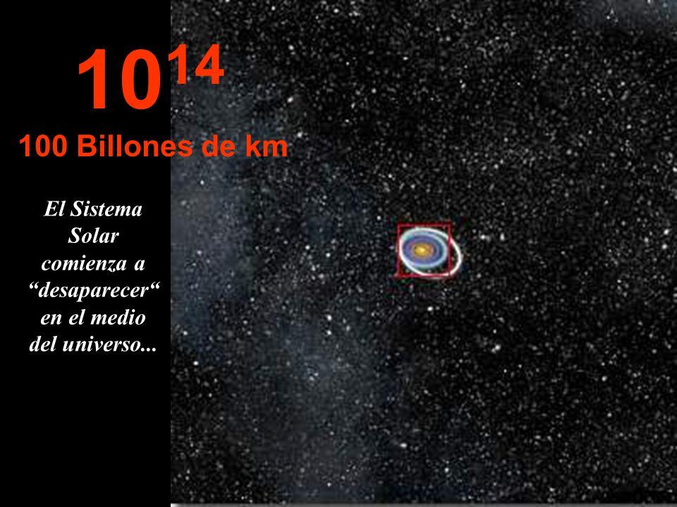 El Sistema Solar comienza a desaparecer en el medio del universo...
