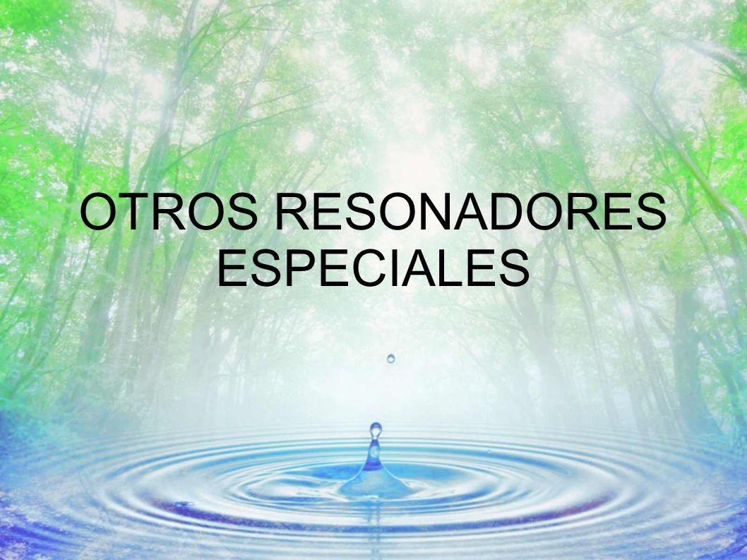 OTROS RESONADORES ESPECIALES