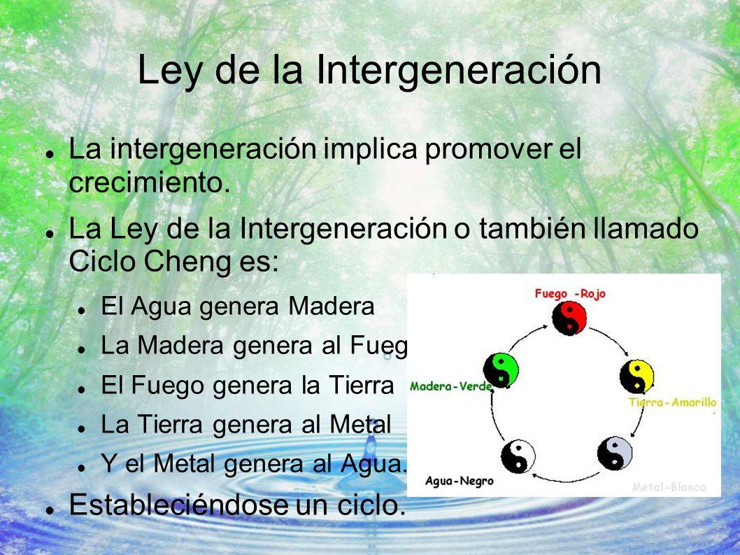 Ley de la Intergeneración