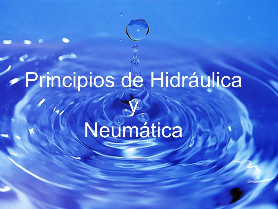 Principios de Hidráulica