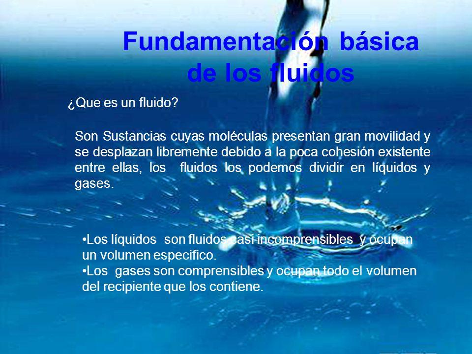 Fundamentación básica de los fluidos