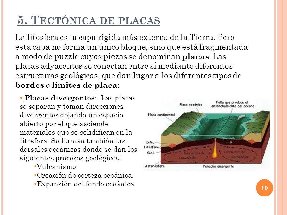 5. Tectónica de placas