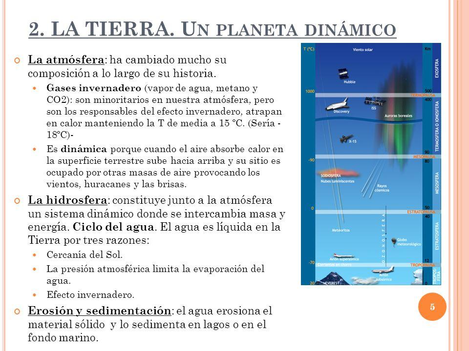 2. LA TIERRA. Un planeta dinámico