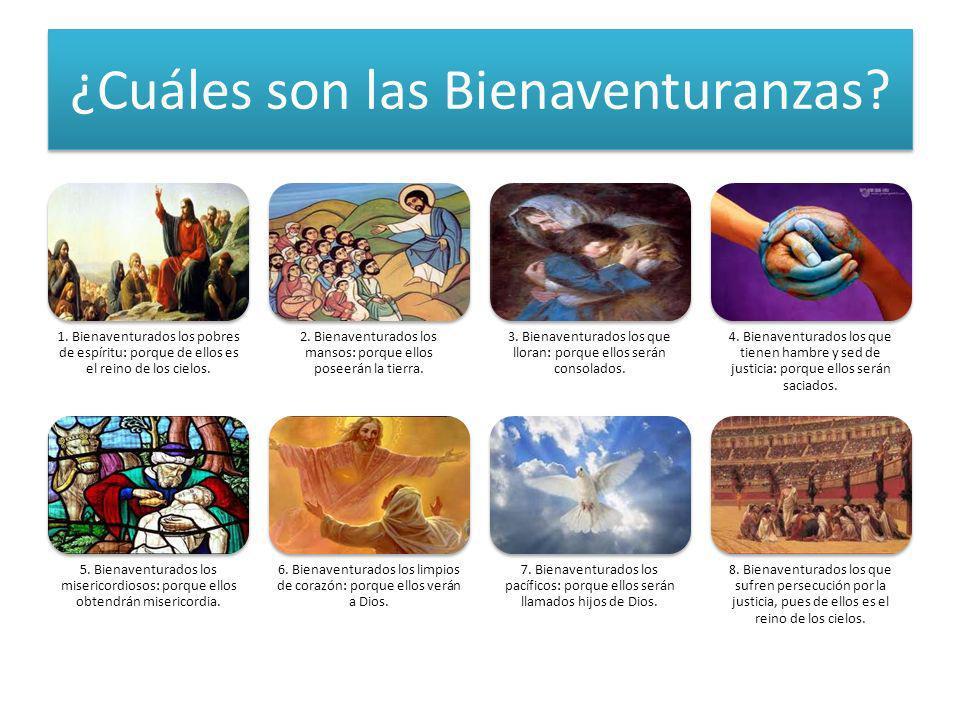 ¿Cuáles son las Bienaventuranzas