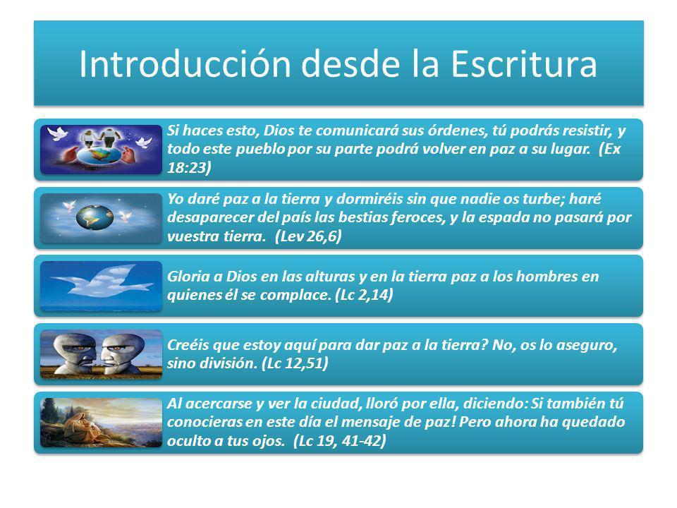 Introducción desde la Escritura