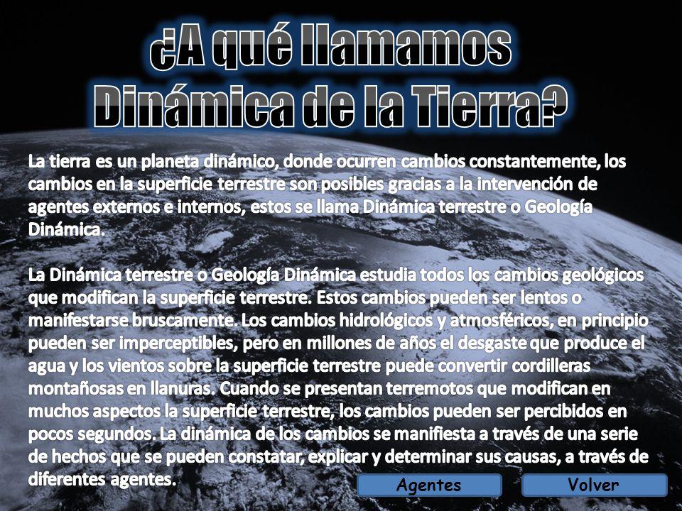 ¿A qué llamamos Dinámica de la Tierra