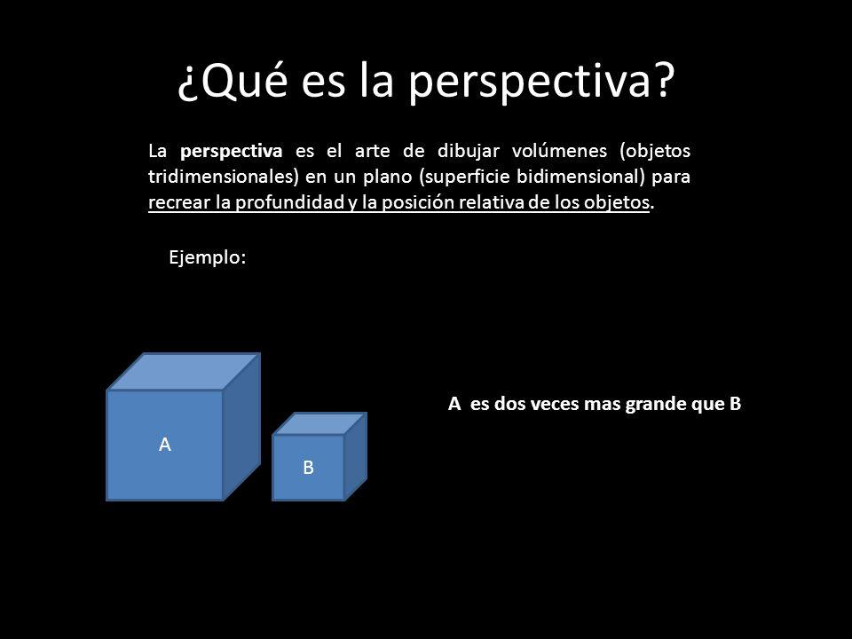 ¿Qué es la perspectiva