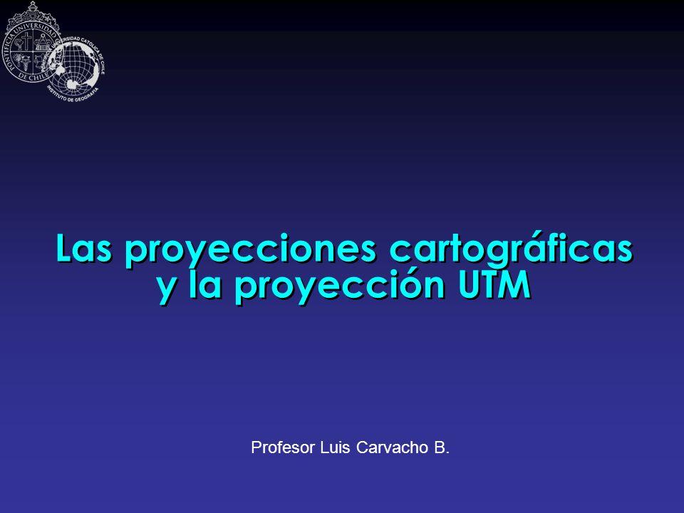 Las proyecciones cartográficas y la proyección UTM