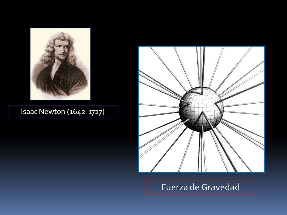Isaac Newton (1642-1727) Fuerza de Gravedad
