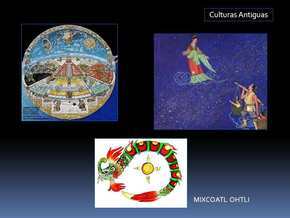 Culturas Antiguas MIXCOATL OHTLI