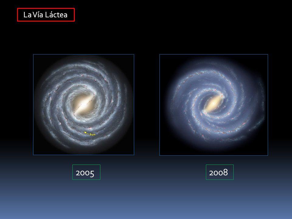 La Vía Láctea 2005 2008
