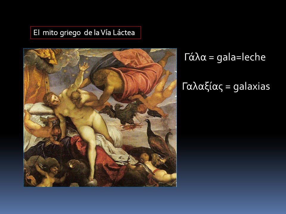 El mito griego de la Vía Láctea