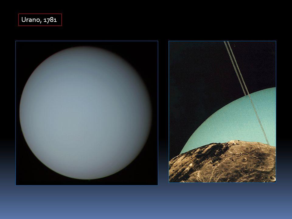 Urano, 1781