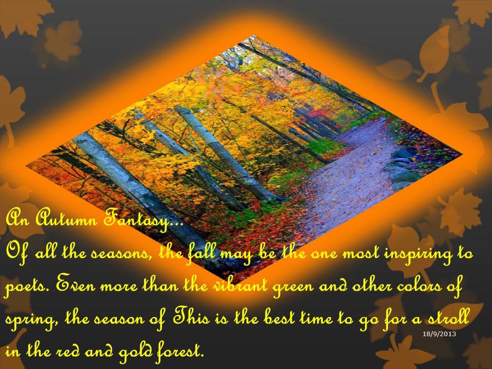 An Autumn Fantasy...