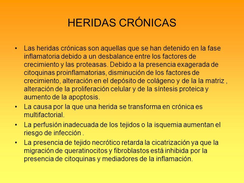 HERIDAS CRÓNICAS