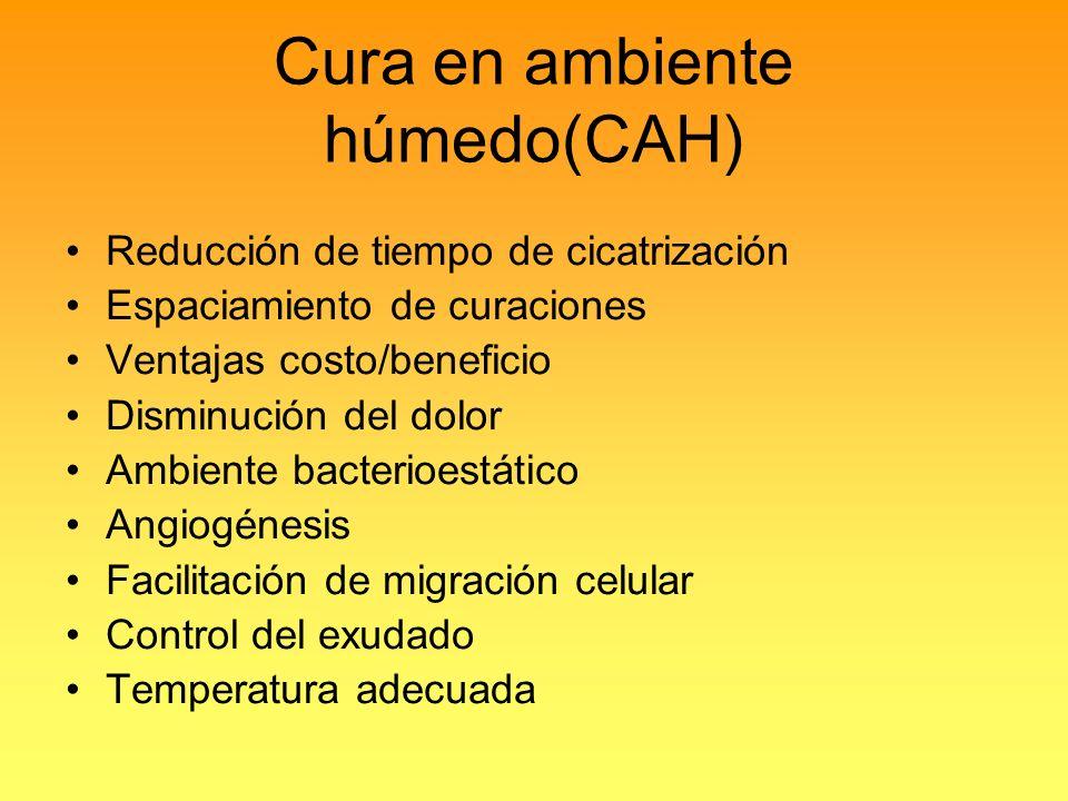 Cura en ambiente húmedo(CAH)