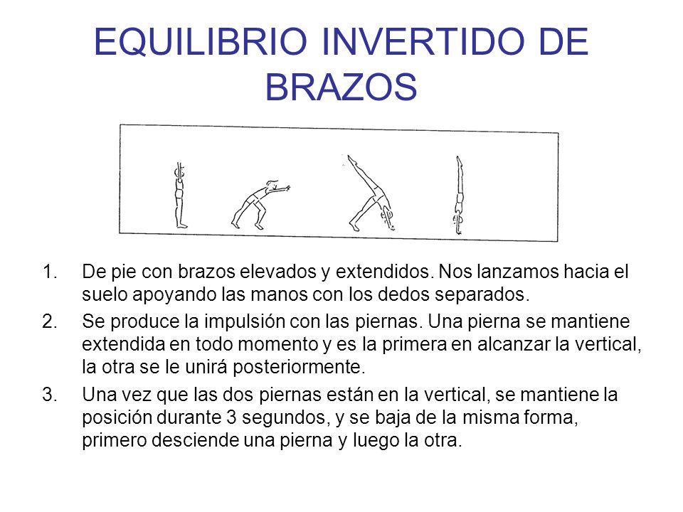 EQUILIBRIO INVERTIDO DE BRAZOS