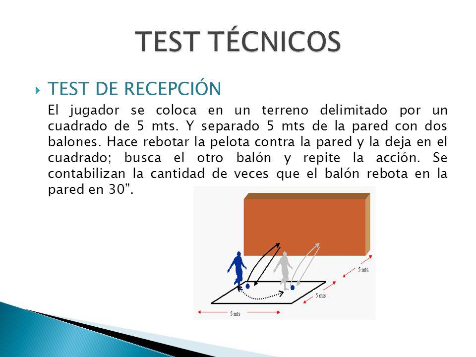 TEST TÉCNICOS TEST DE RECEPCIÓN