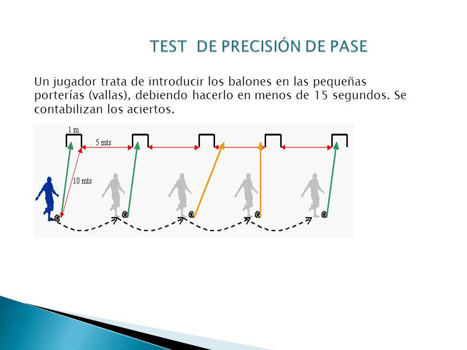 TEST DE PRECISIÓN DE PASE
