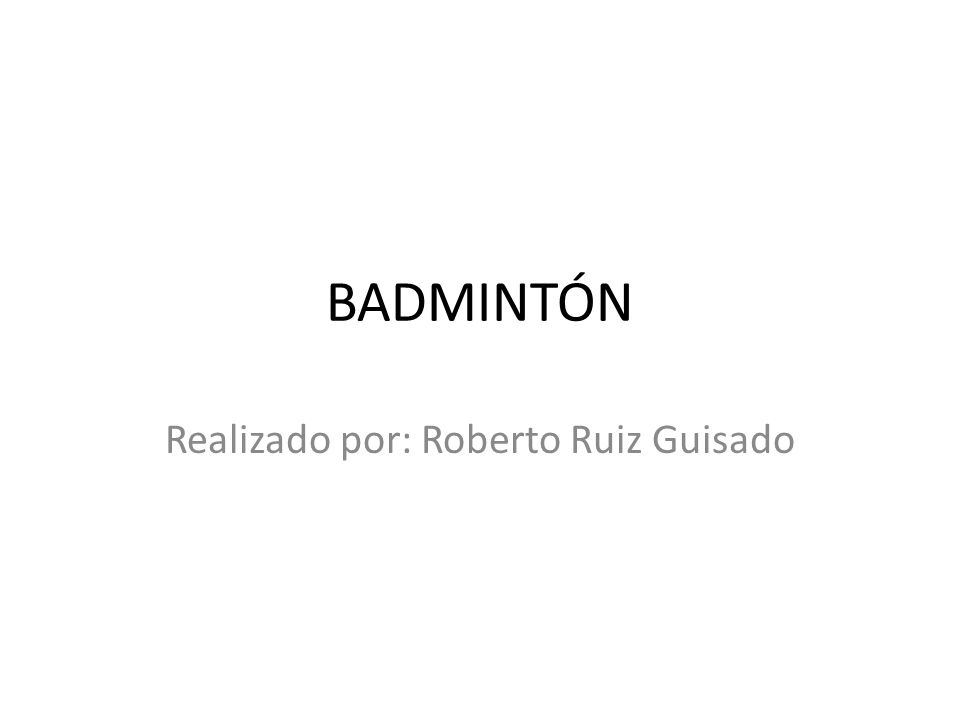 Realizado por: Roberto Ruiz Guisado
