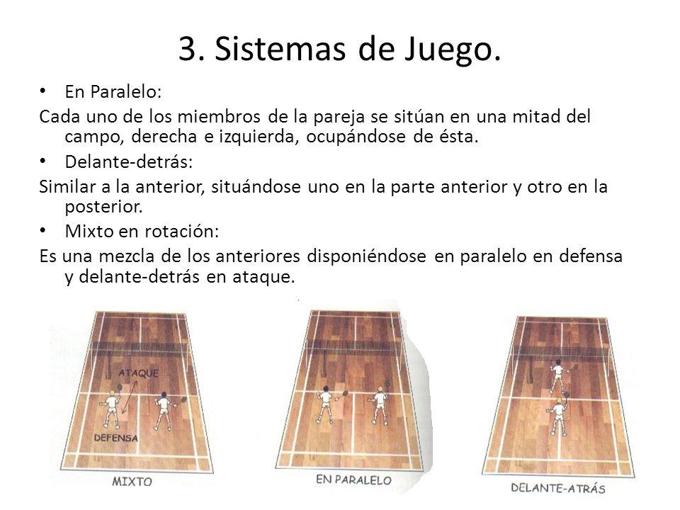 3. Sistemas de Juego. En Paralelo: