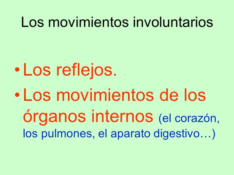 Los movimientos involuntarios