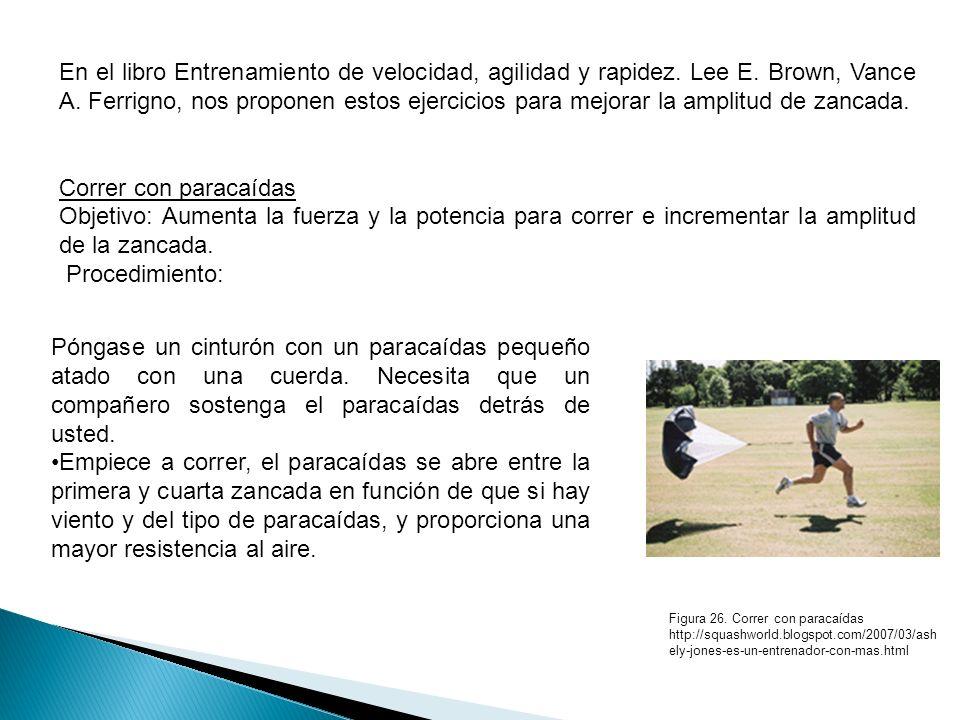 En el libro Entrenamiento de velocidad, agilidad y rapidez. Lee E