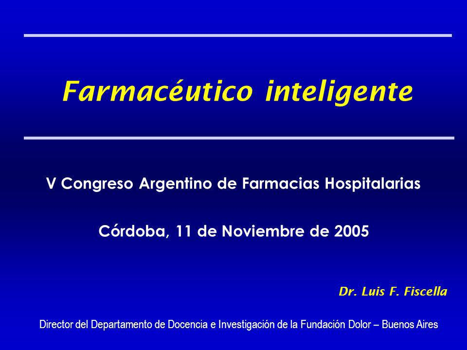 Farmacéutico inteligente