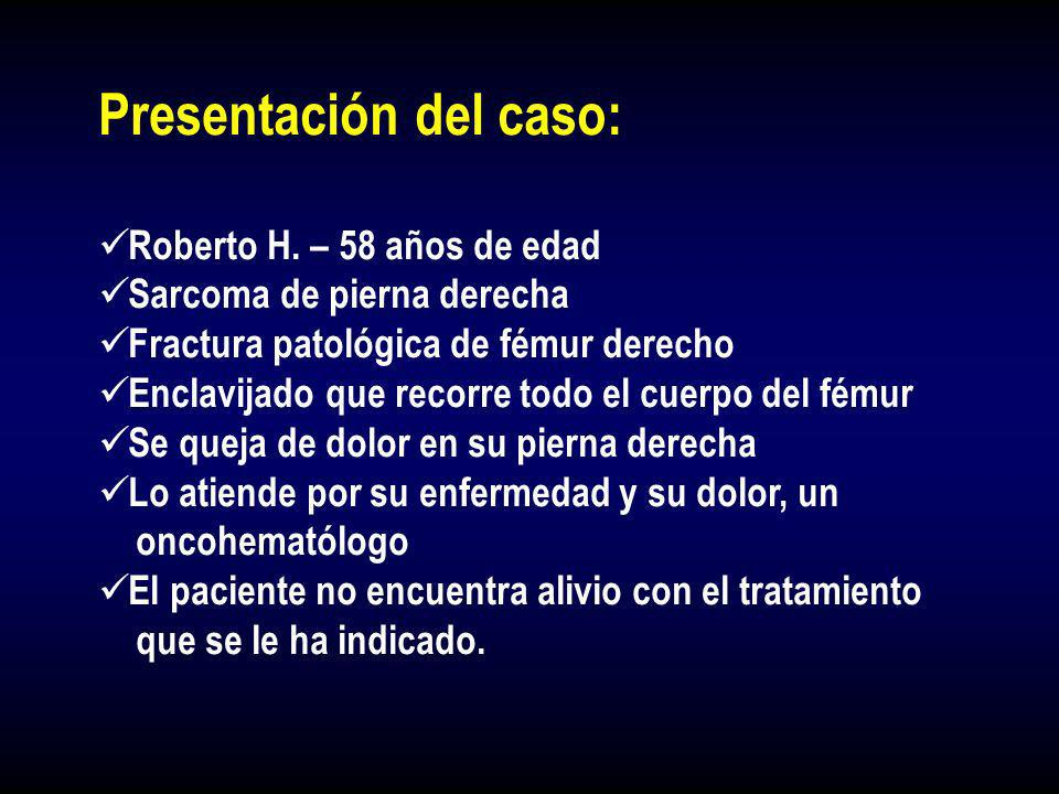 Presentación del caso: