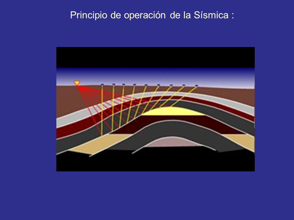 Principio de operación de la Sísmica :