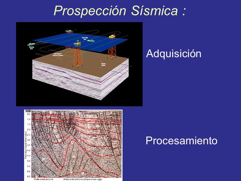 Prospección Sísmica : Adquisición Procesamiento