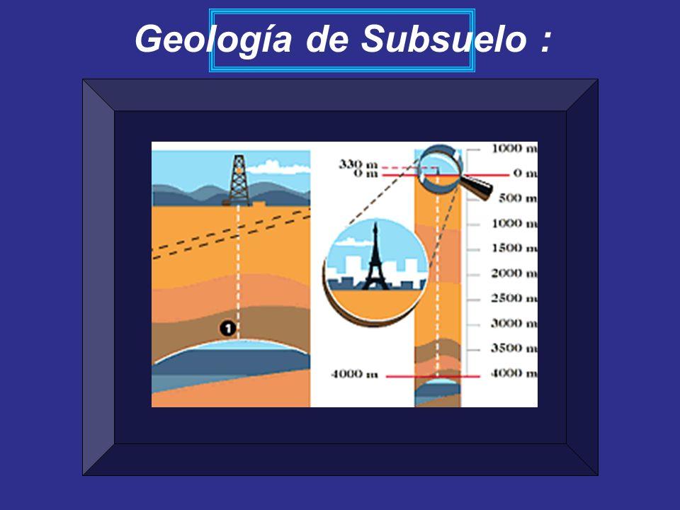 Geología de Subsuelo :