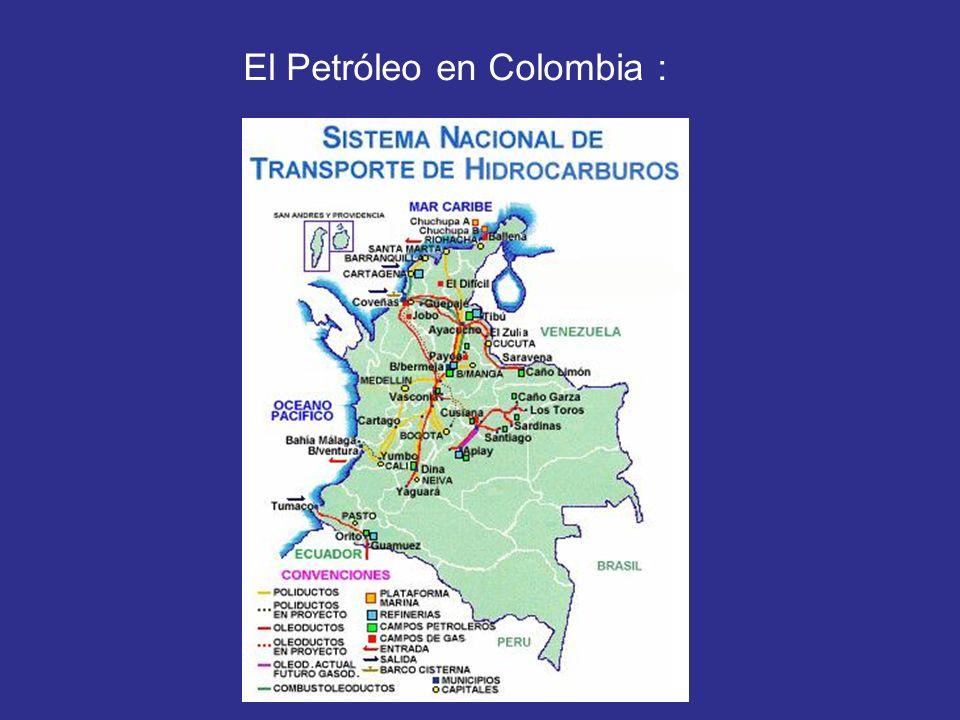 El Petróleo en Colombia :
