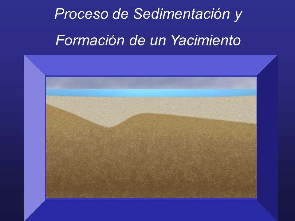 Proceso de Sedimentación y Formación de un Yacimiento