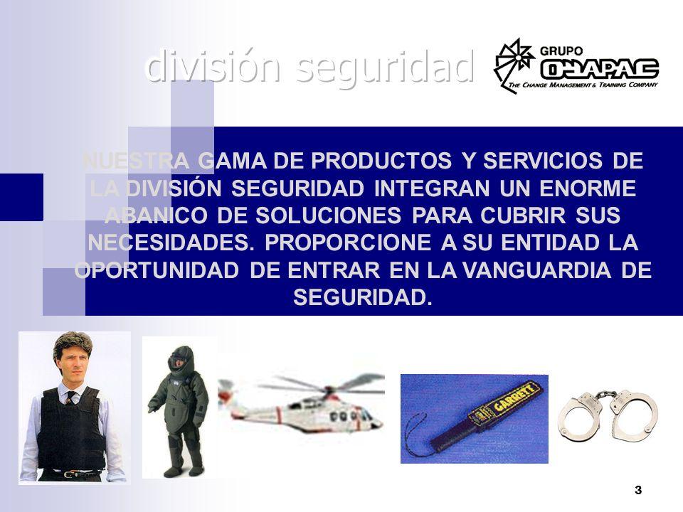 división seguridad