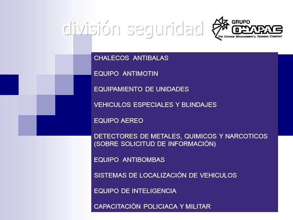 división seguridad CHALECOS ANTIBALAS EQUIPO ANTIMOTIN