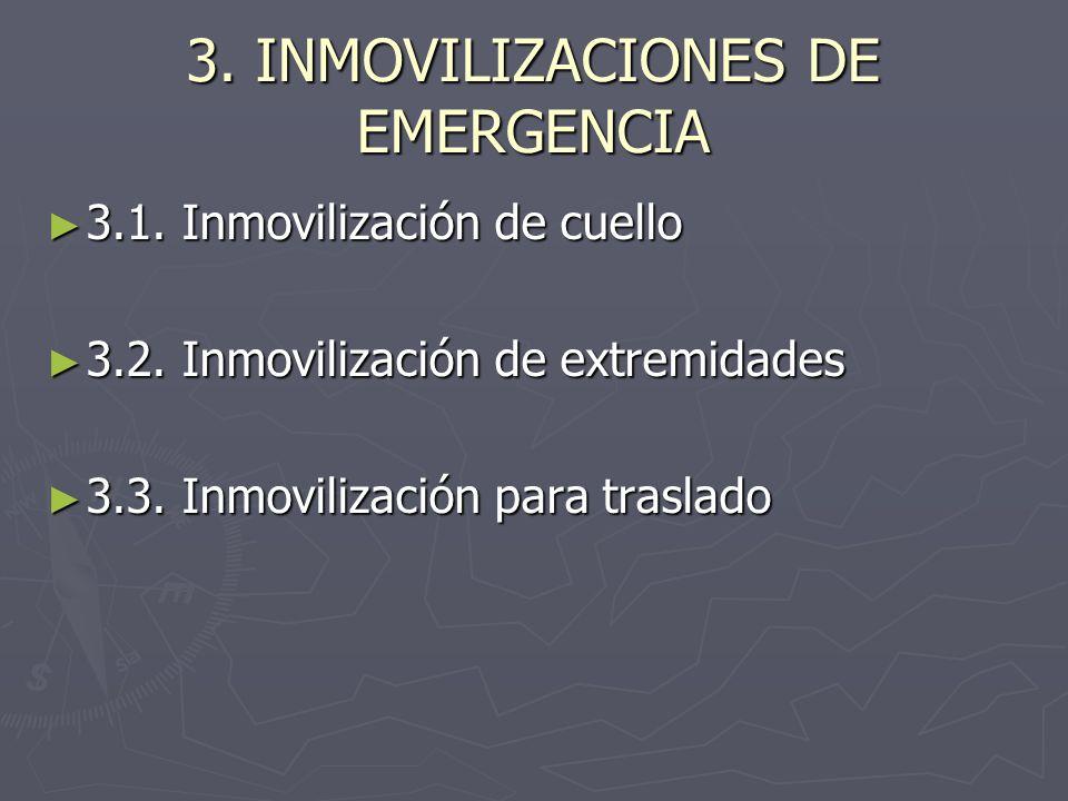 3. INMOVILIZACIONES DE EMERGENCIA