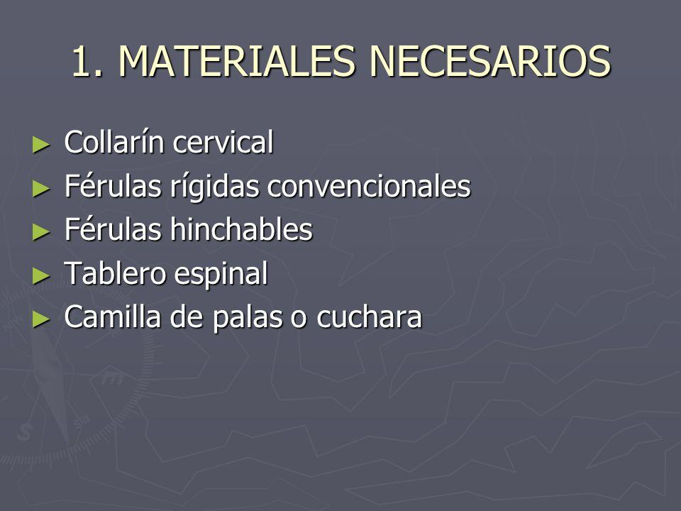 1. MATERIALES NECESARIOS