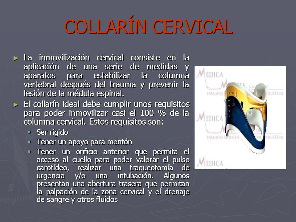 COLLARÍN CERVICAL