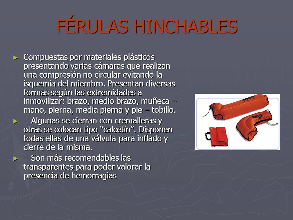 FÉRULAS HINCHABLES