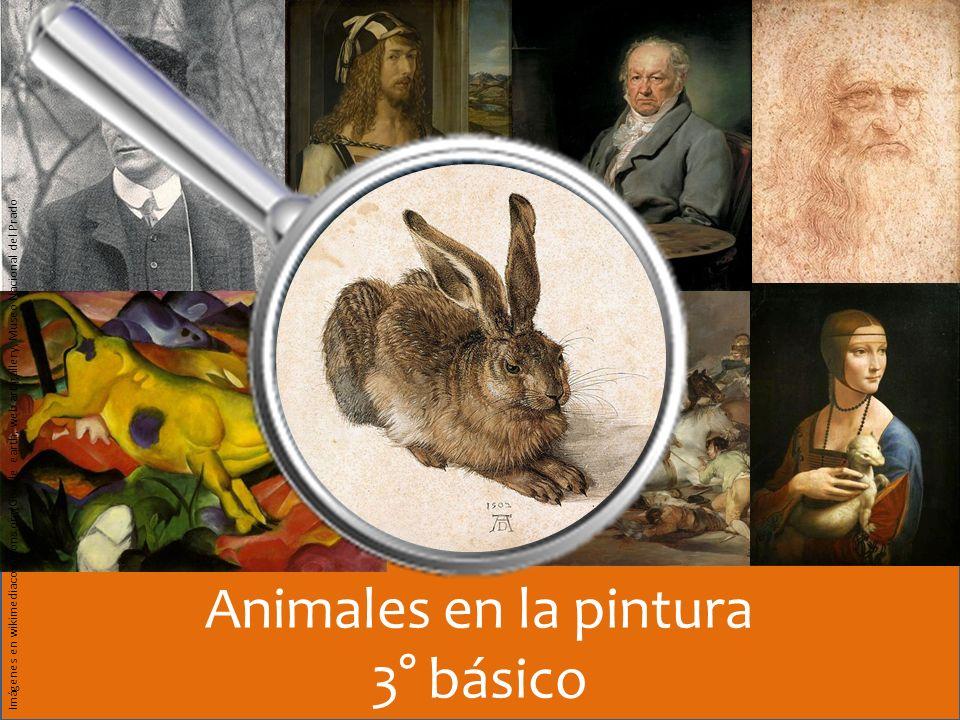 Animales en la pintura 3° básico