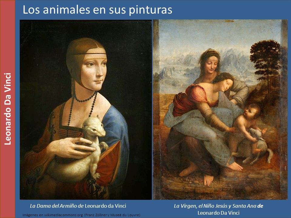 Los animales en sus pinturas