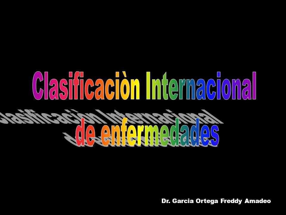 Clasificaciòn Internacional