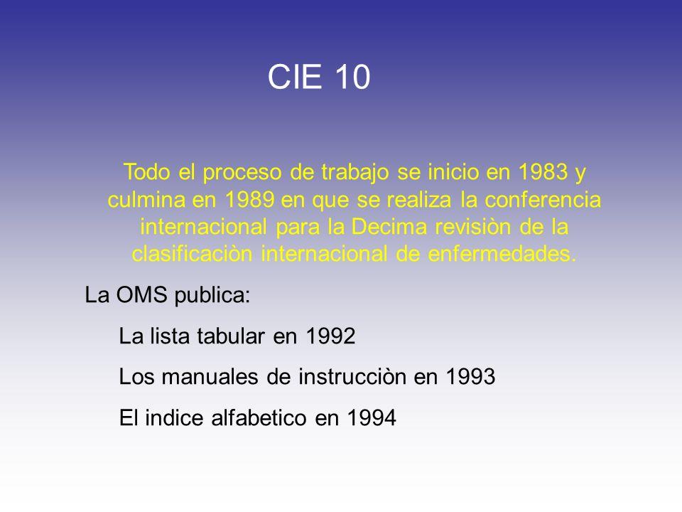 CIE 10